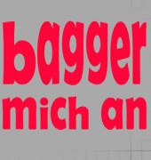 volleyball bagger mich an shirtmotiv