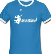 volleyball hammertime shirtmotiv